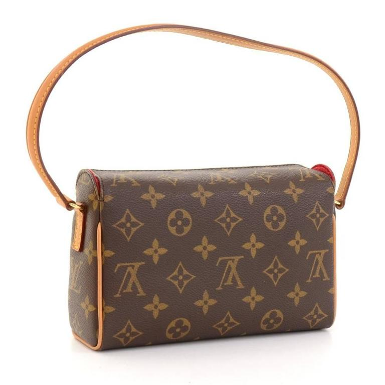 Louis Vuitton Recital Monogram Canvas Shoulder Hand Bag 3