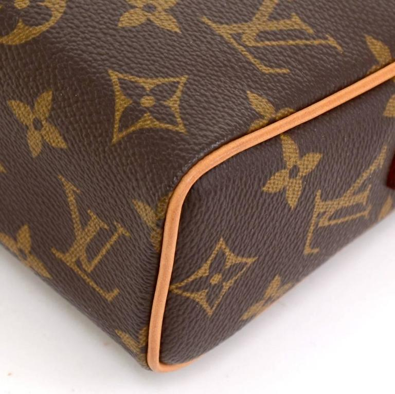 Louis Vuitton Recital Monogram Canvas Shoulder Hand Bag 7