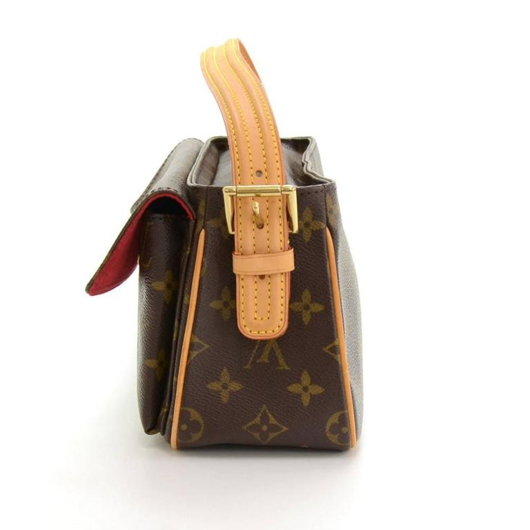Louis Vuitton Viva Cite MM Monogram Canvas Shoulder Hand Bag 4