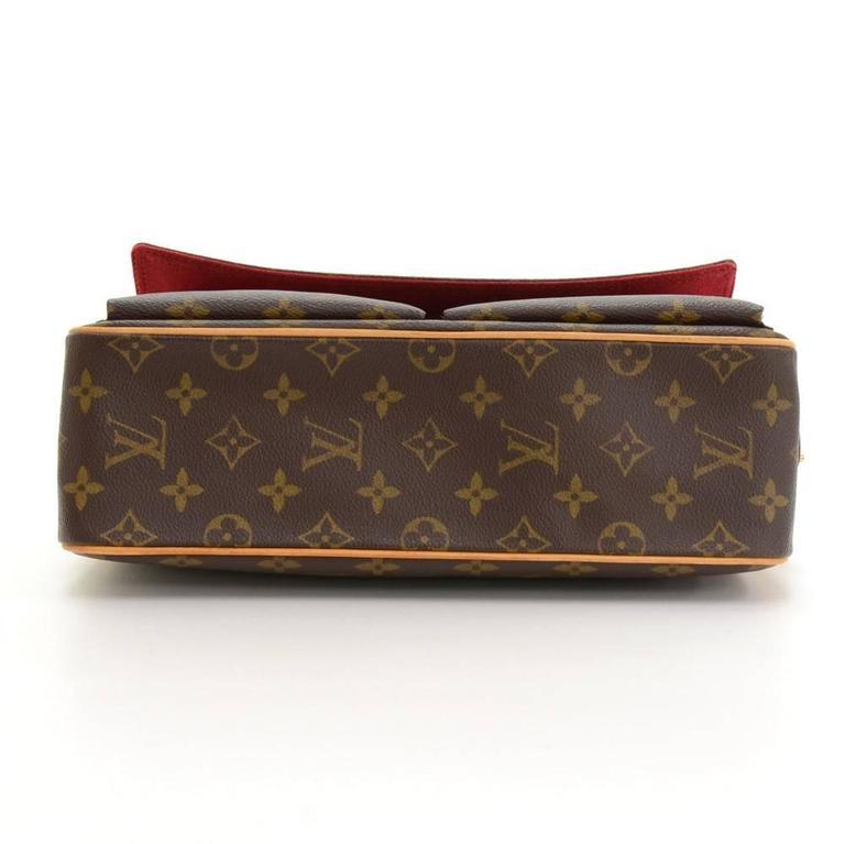 Louis Vuitton Viva Cite MM Monogram Canvas Shoulder Hand Bag 6