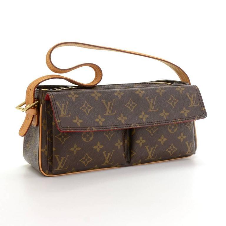 Louis Vuitton Viva Cite MM Monogram Canvas Shoulder Hand Bag 2