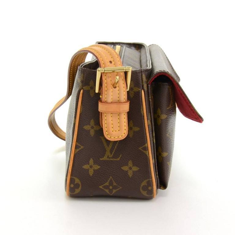 Louis Vuitton Viva Cite MM Monogram Canvas Shoulder Hand Bag 5