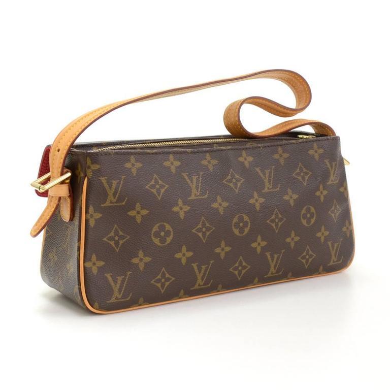 Louis Vuitton Viva Cite MM Monogram Canvas Shoulder Hand Bag 3