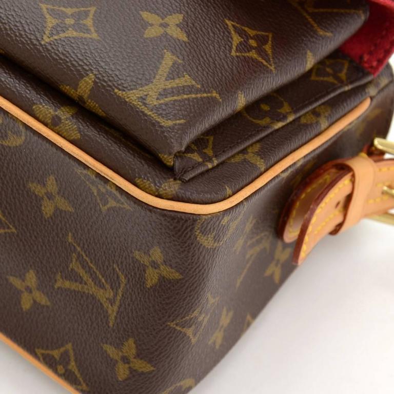 Louis Vuitton Viva Cite MM Monogram Canvas Shoulder Hand Bag 7