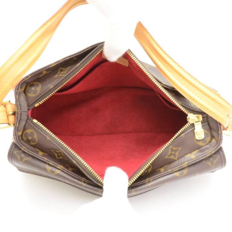 Louis Vuitton Viva Cite MM Monogram Canvas Shoulder Hand Bag 10