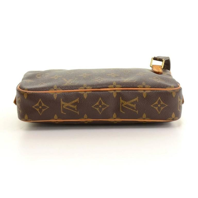 Louis Vuitton Pochette Marly Bandouliere Monogram Canvas Shoulder Bag 6