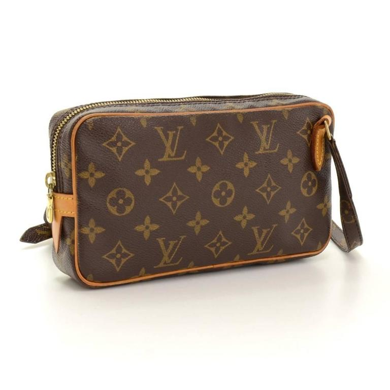 Louis Vuitton Pochette Marly Bandouliere Monogram Canvas Shoulder Bag 3