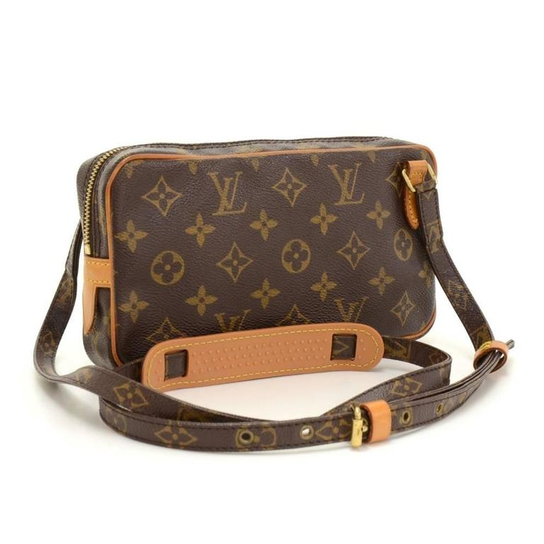 Louis Vuitton Pochette Marly Bandouliere Monogram Canvas Shoulder Bag 2