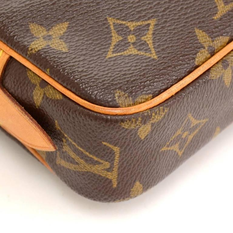 Louis Vuitton Pochette Marly Bandouliere Monogram Canvas Shoulder Bag 7