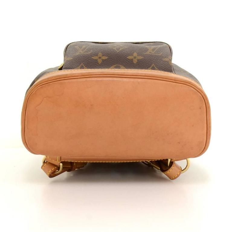 Louis Vuitton Mini Montsouris Monogram Canvas Backpack Bag For Sale 1
