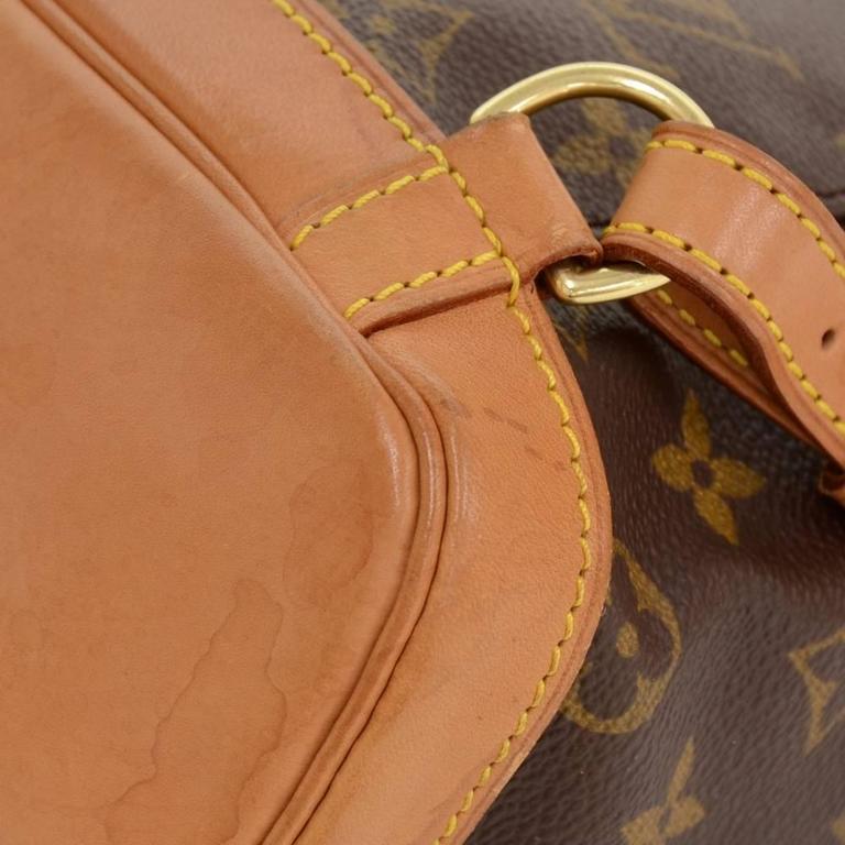 Louis Vuitton Mini Montsouris Monogram Canvas Backpack Bag For Sale 3