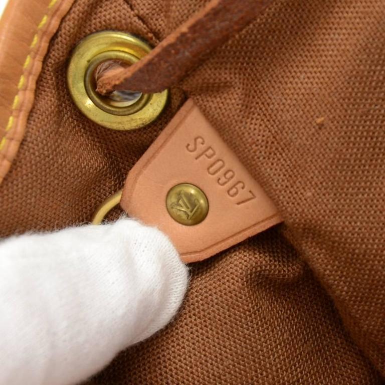 Louis Vuitton Mini Montsouris Monogram Canvas Backpack Bag For Sale 4