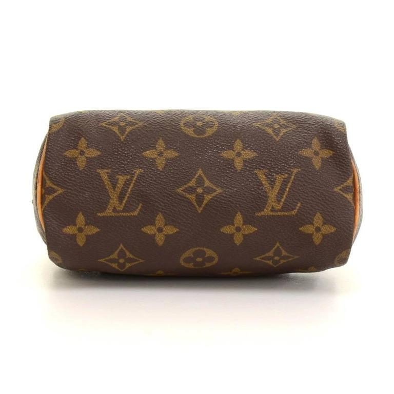 Vintage Louis Vuitton Mini Speedy Sac HL Monogram Canvas Hand Bag + Strap 6
