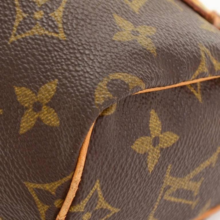 Vintage Louis Vuitton Mini Speedy Sac HL Monogram Canvas Hand Bag + Strap 7