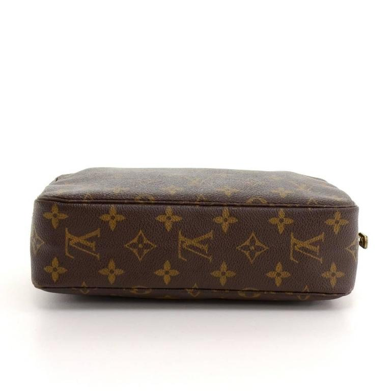 Vintage Louis Vuitton Trousse Toilette 23 Monogram Canvas Cosmetic Pouch 6