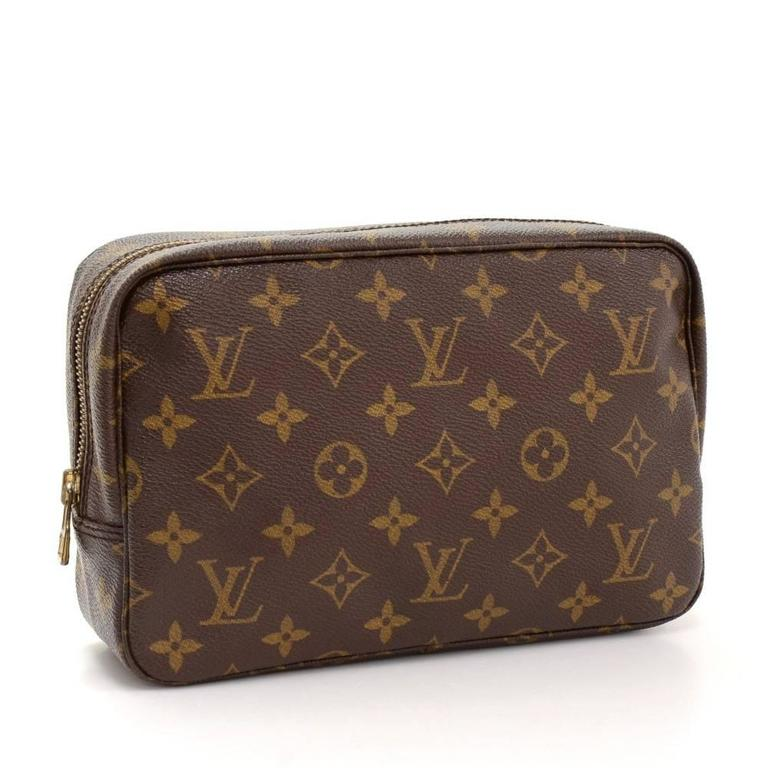 Vintage Louis Vuitton Trousse Toilette 23 Monogram Canvas Cosmetic Pouch 2