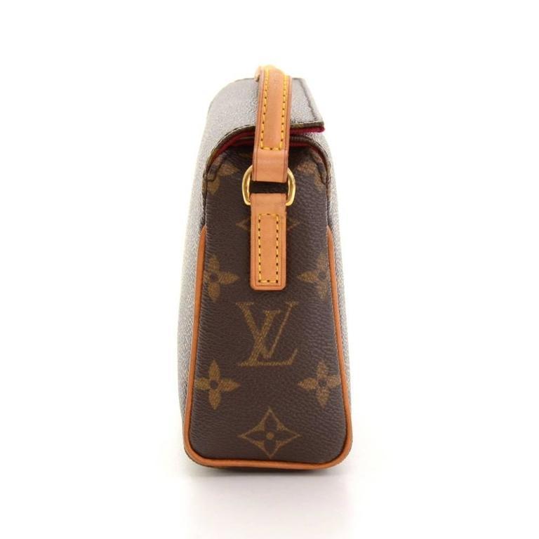 Louis Vuitton Recital Monogram Canvas Shoulder Hand Bag 5