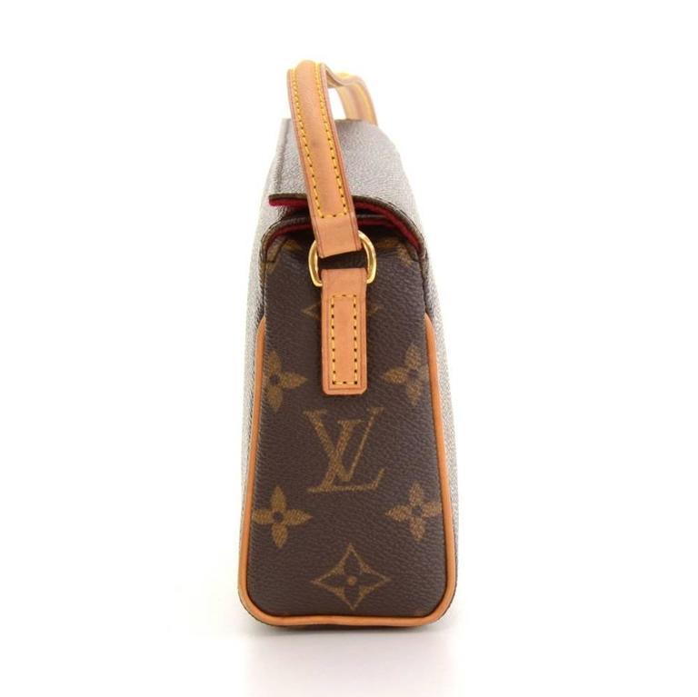 Louis Vuitton Recital Monogram Canvas Shoulder Hand Bag 4