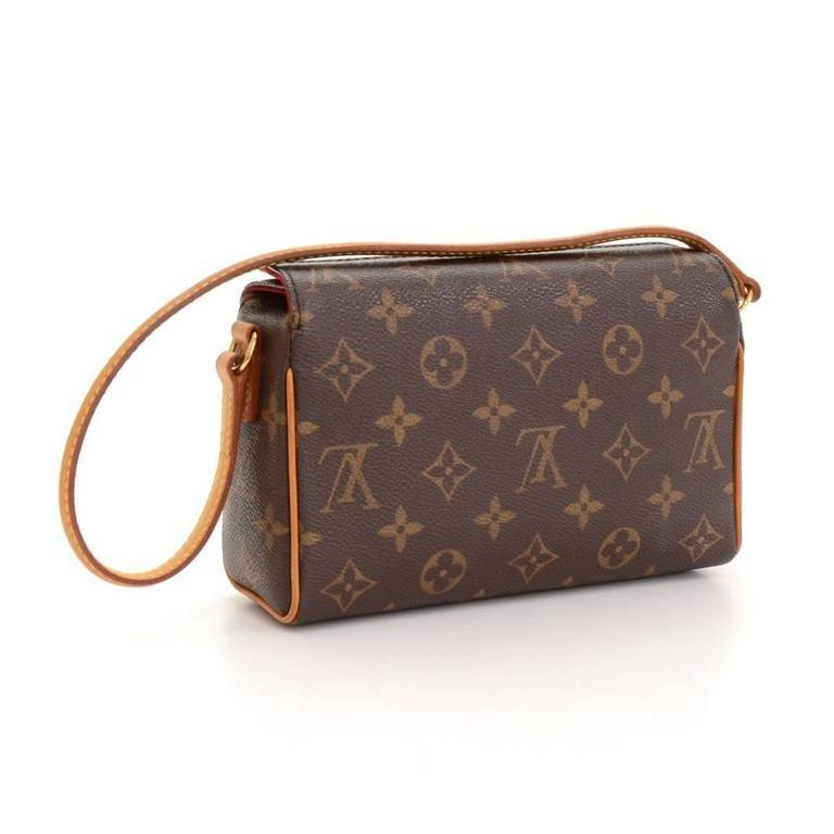 Louis Vuitton Recital Monogram Canvas Shoulder Hand Bag 3