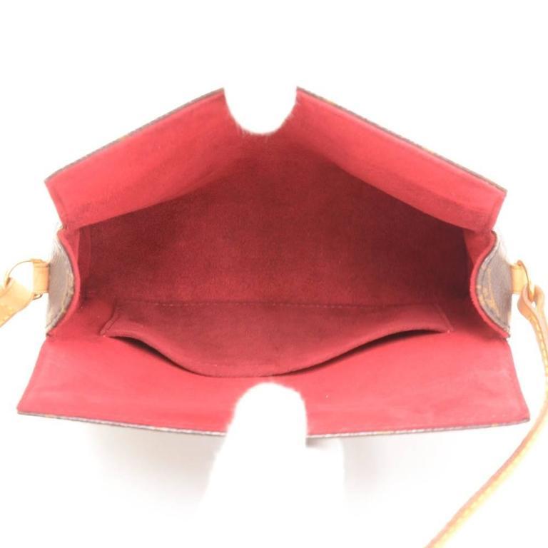 Louis Vuitton Recital Monogram Canvas Shoulder Hand Bag 10