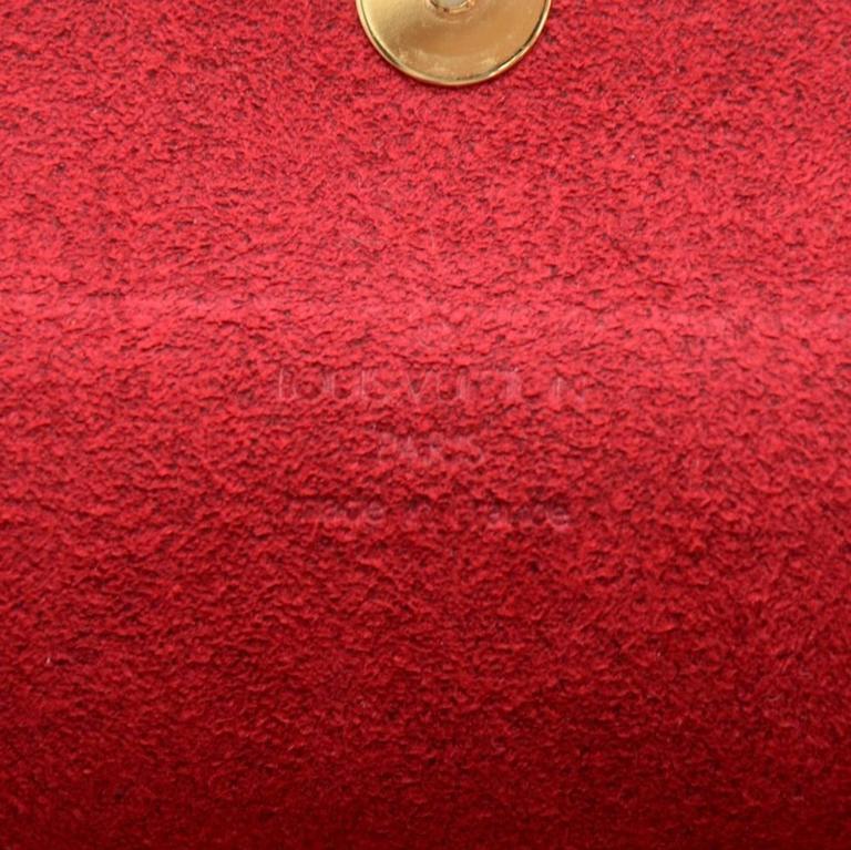 Louis Vuitton Recital Monogram Canvas Shoulder Hand Bag 8