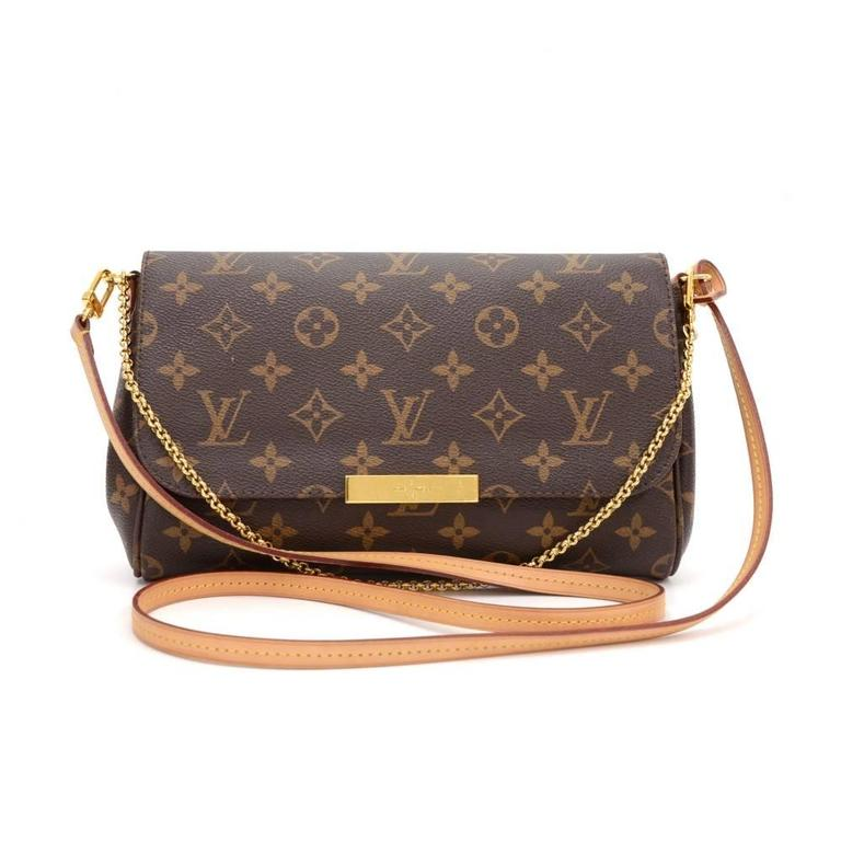 Louis Vuitton Made In France >> Louis Vuitton Favorite PM Monogram Canvas 2way Shoulder Bag at 1stdibs