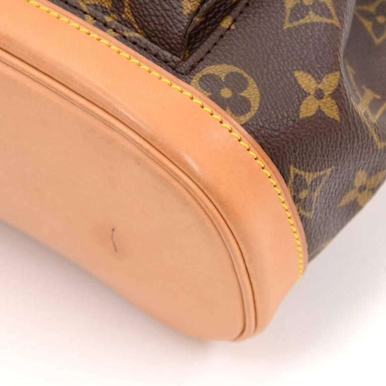 Louis Vuitton Mini Montsouris Monogram Canvas Backpack Bag 7