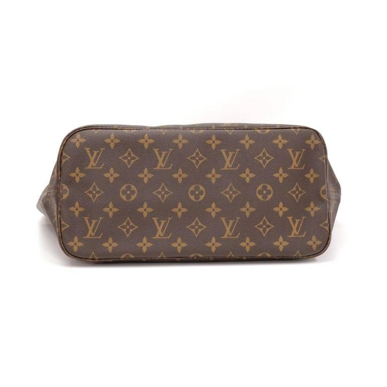 Louis Vuitton Neverfull MM Monogram Canvas Shoulder Tote Bag 6