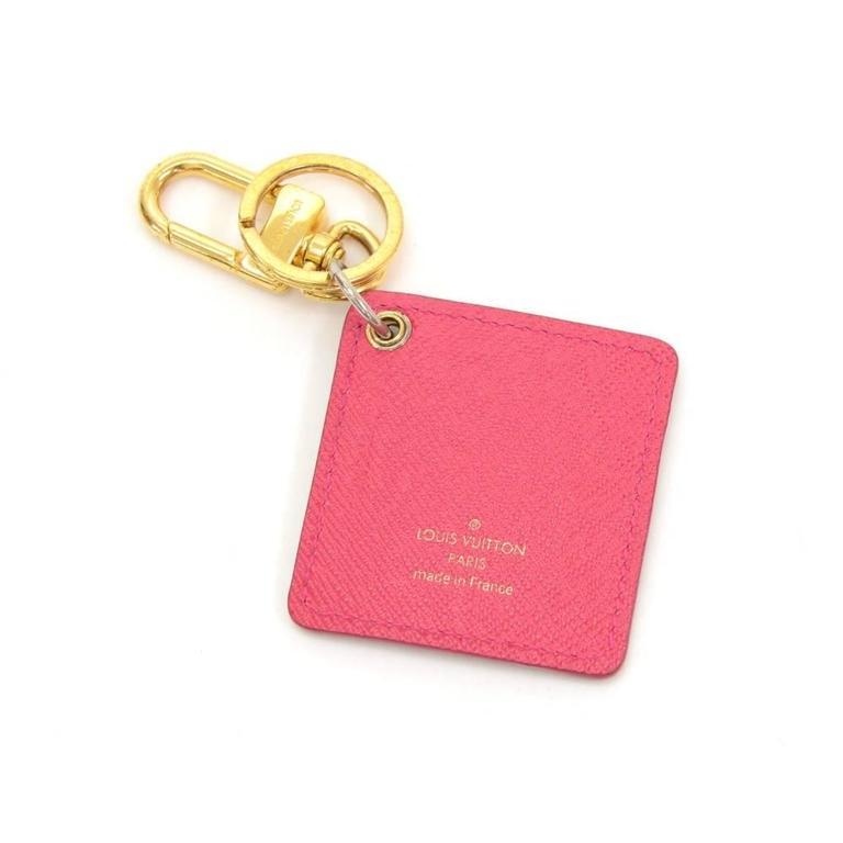 Louis Vuitton Illustre Carousel Monogram Gold Tone Key Chain/Holder 2