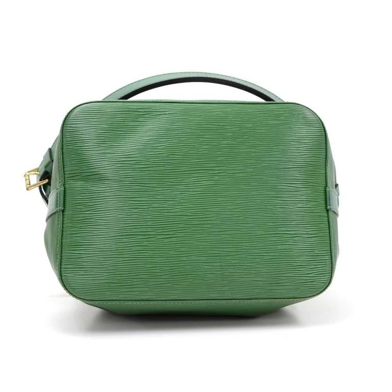 b3ca3074a30d Vintage Louis Vuitton Petit Noe Green Epi Leather Shoulder Bag at 1stdibs