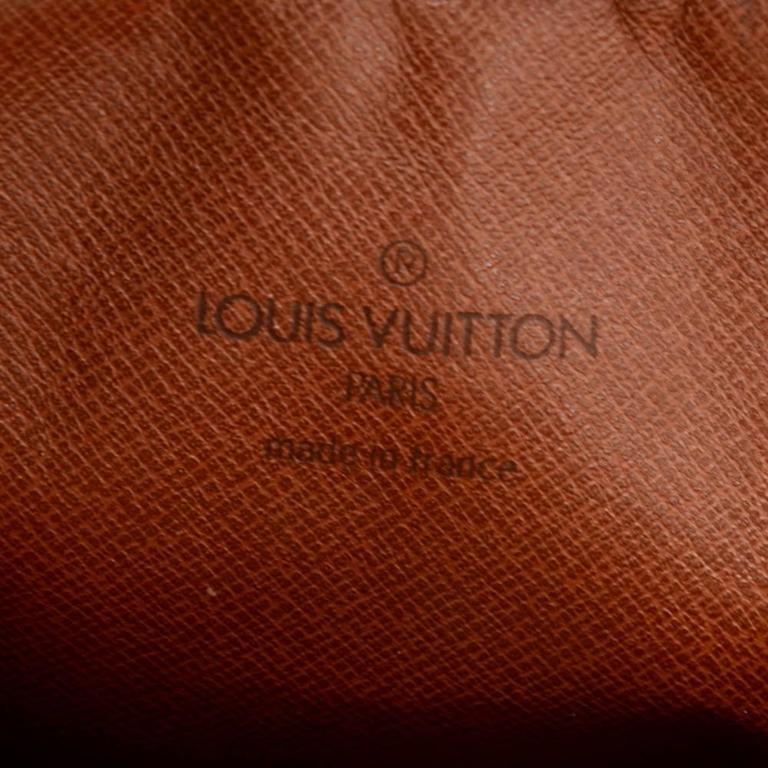 Vintage Louis Vuitton Mini Danube Monogram Canvas Shoulder Pochette Bag For Sale 3