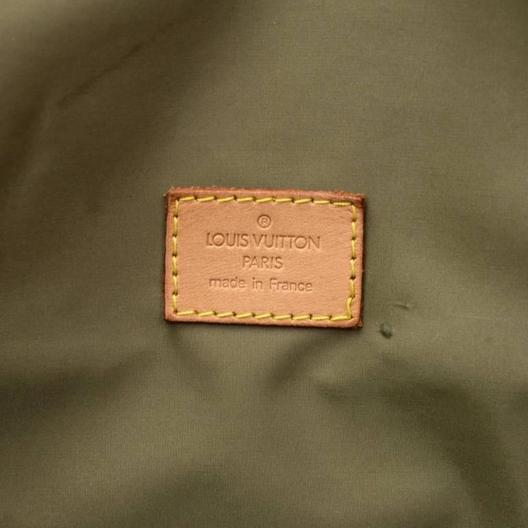 Louis Vuitton Messager Gray Damier Geant Canvas Laptop Bag For Sale 3