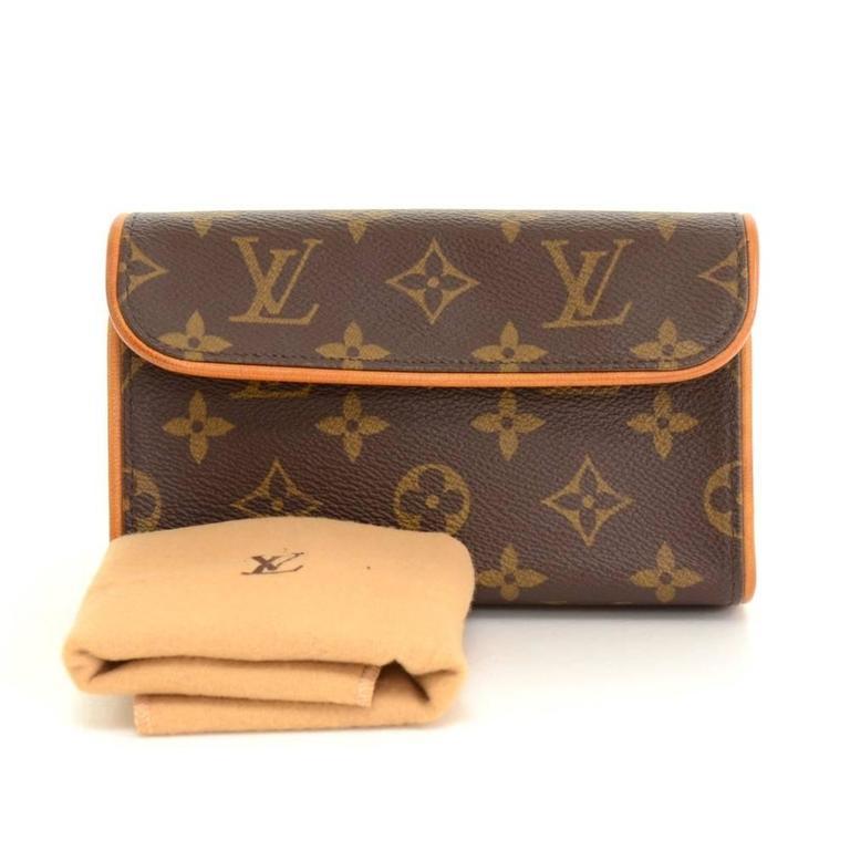 Louis Vuitton Pochette Florentine Monogram Canvas Waist