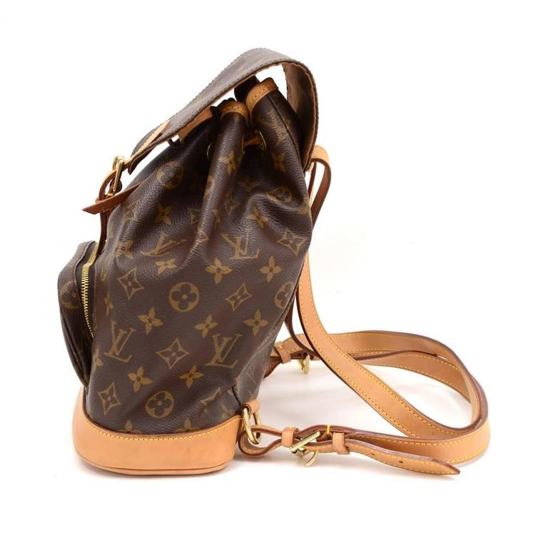 Louis Vuitton Moyen Montsouris MM Monogram Canvas Backpack Bag In Excellent Condition For Sale In Fukuoka, Kyushu