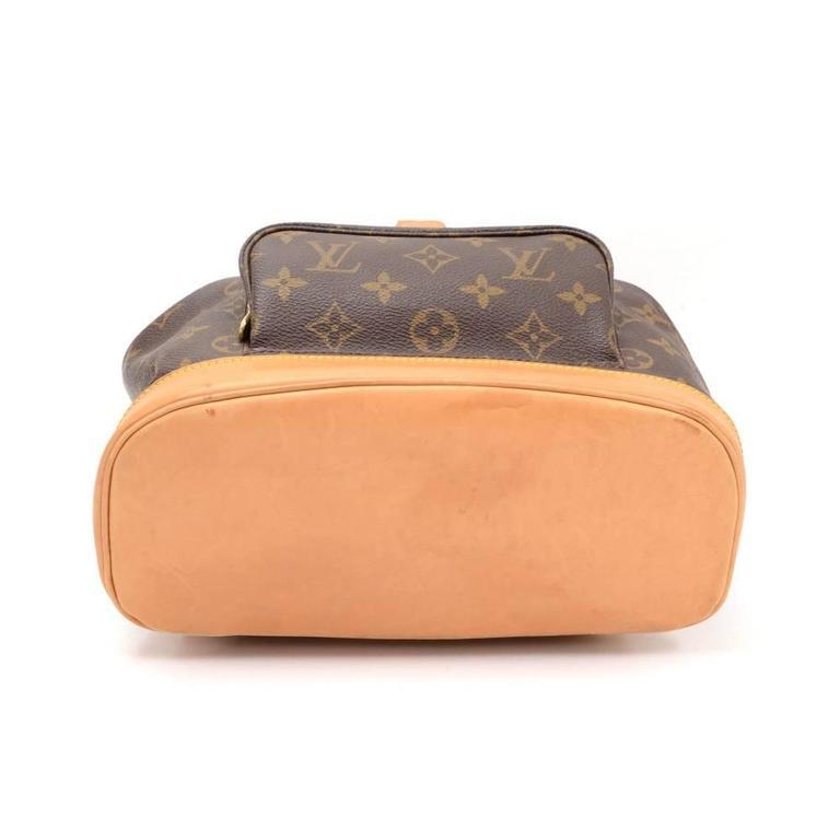 Louis Vuitton Moyen Montsouris MM Monogram Canvas Backpack Bag 5