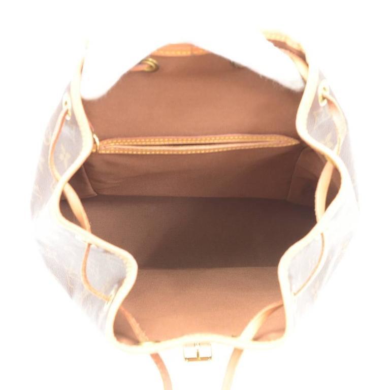 Louis Vuitton Moyen Montsouris MM Monogram Canvas Backpack Bag 9