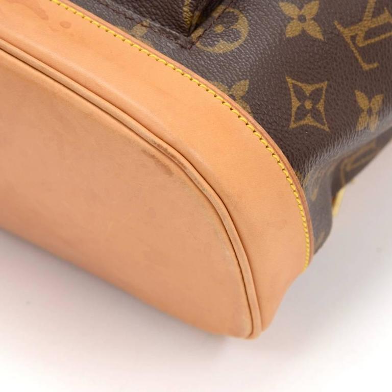Louis Vuitton Moyen Montsouris MM Monogram Canvas Backpack Bag 6
