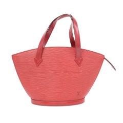 Vintage Louis Vuitton Saint Jacques PM Red Epi Leather Hand Bag