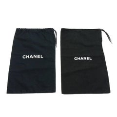 Chanel Black Dust Bag For Shoes