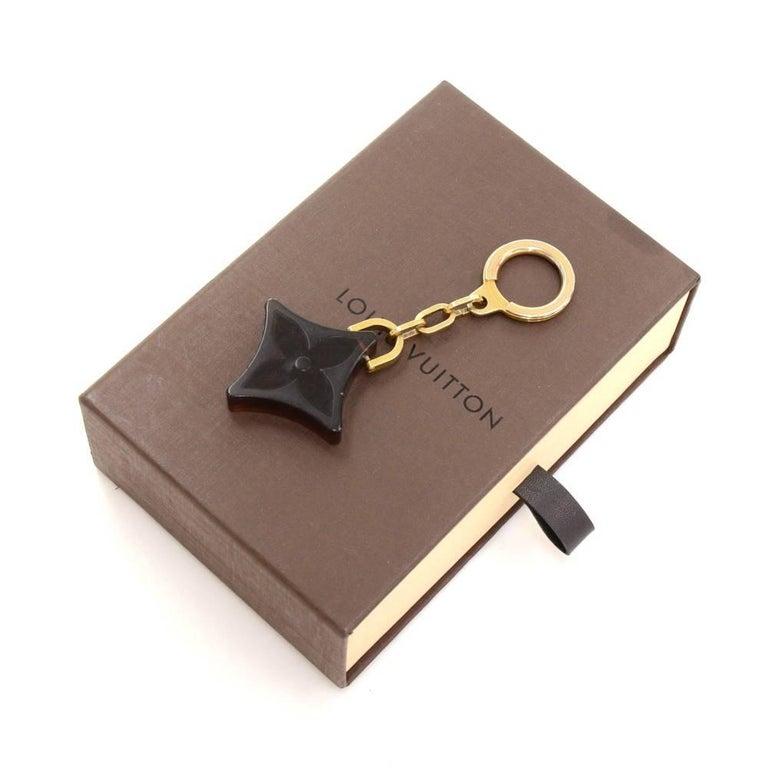 Louis Vuitton Brown Monogram Motif Plastic Key Holder 2