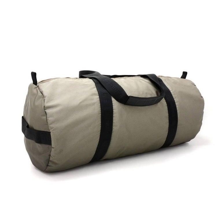 Chanel Sport Line Gray Nylon Large Boston Bag For Sale at ...