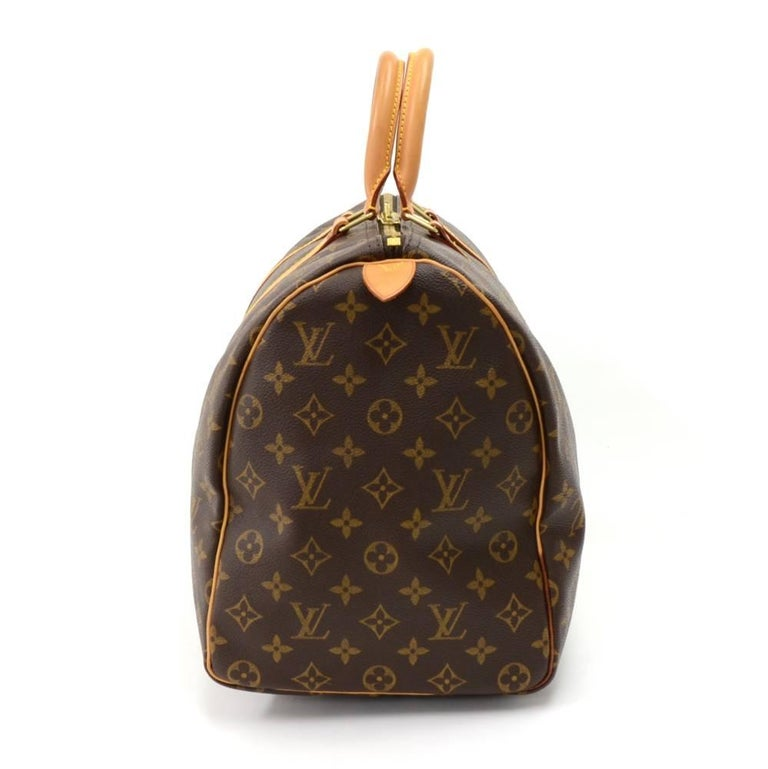Louis Vuitton Keepall 45 Monogram Canvas Duffle Travel Bag  4