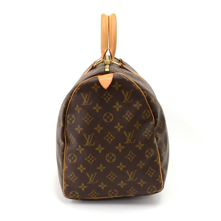 Louis Vuitton Keepall 45 Monogram Canvas Duffle Travel Bag  3