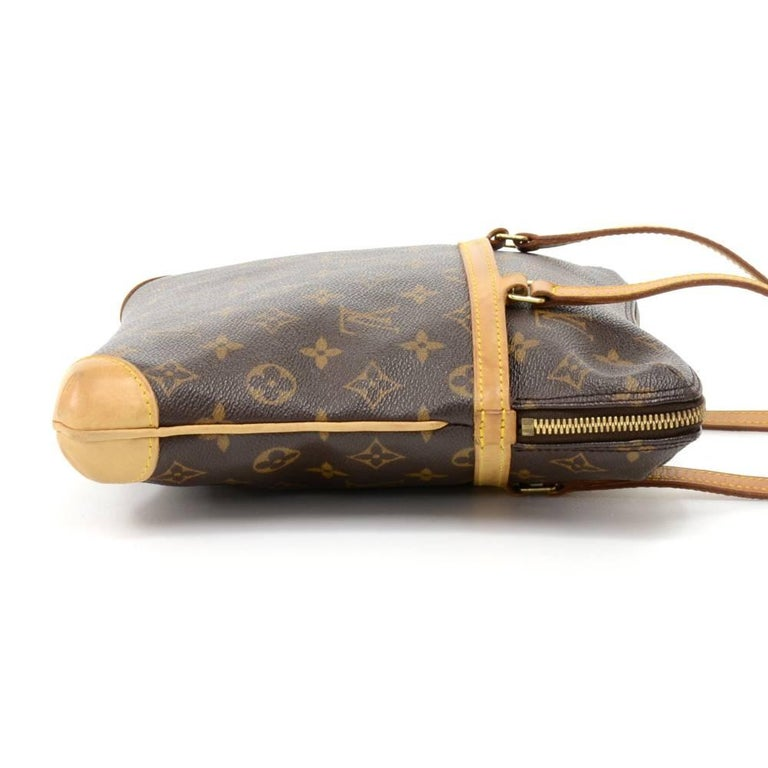 Brown Louis Vuitton Coussin GM Monogram Canvas Shoulder Hand Bag  For Sale