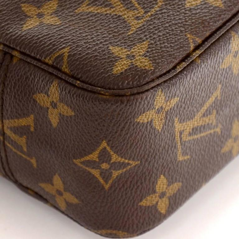 Vintage Louis Vuitton Trousse Toilette 23 Monogram Canvas Cosmetic Pouch 7