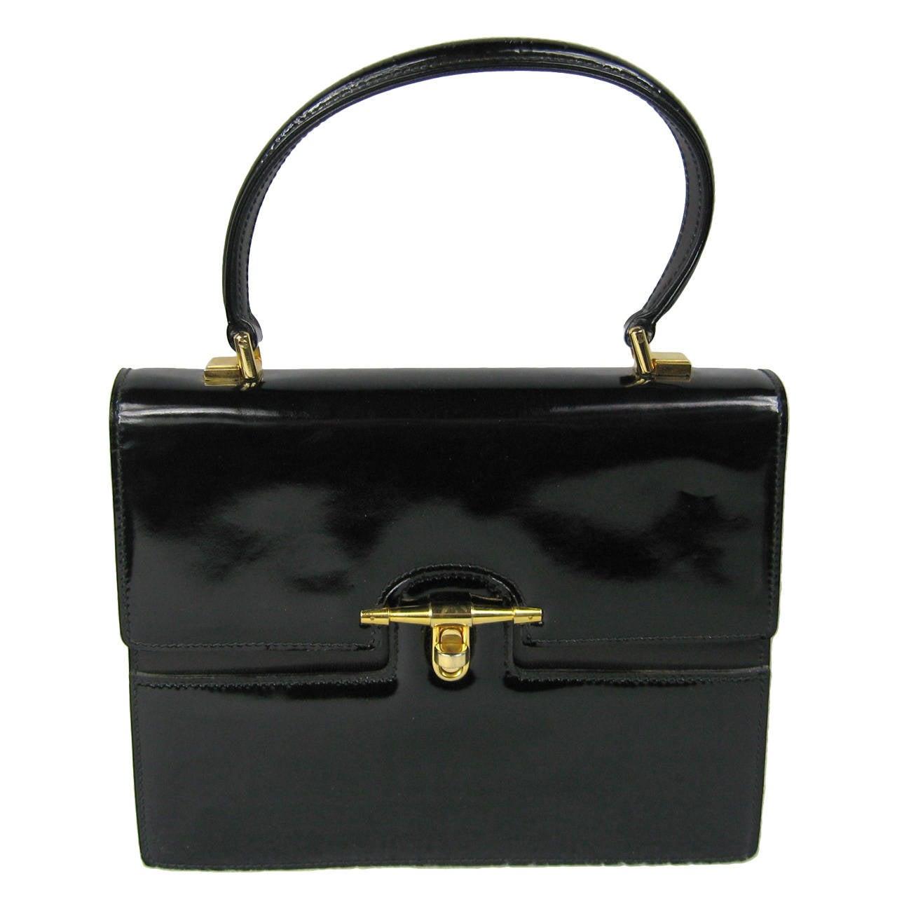 Gucci Vintage Kelly Handbag 1960s New, never used