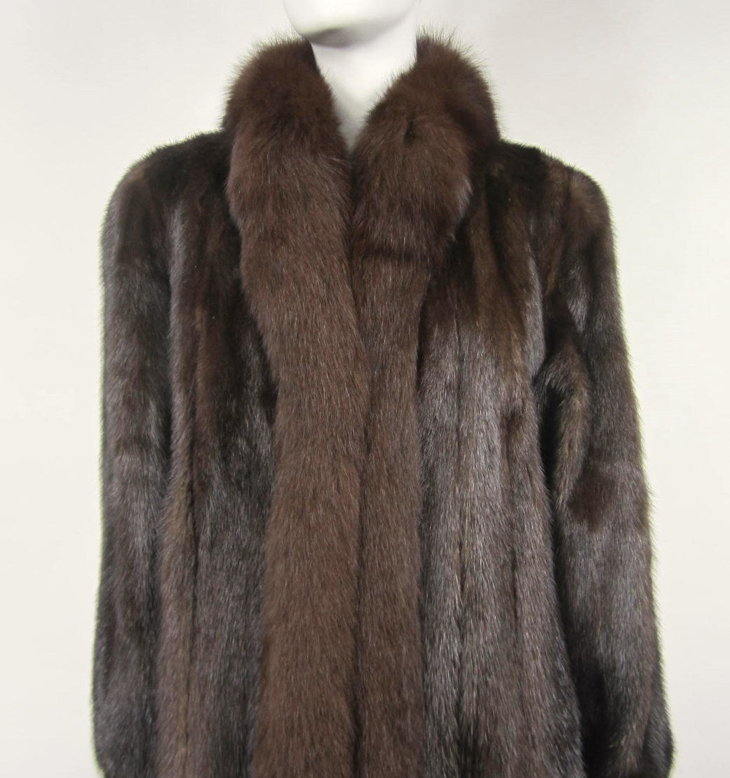 Mink coats are extremely warm and a natural insulator which makes them perfect for the winter. The warmth provided by a mink coat far exceeds that of a regular winter parka and you'll be able to wear a coat like this on the coldest of days/5(16).