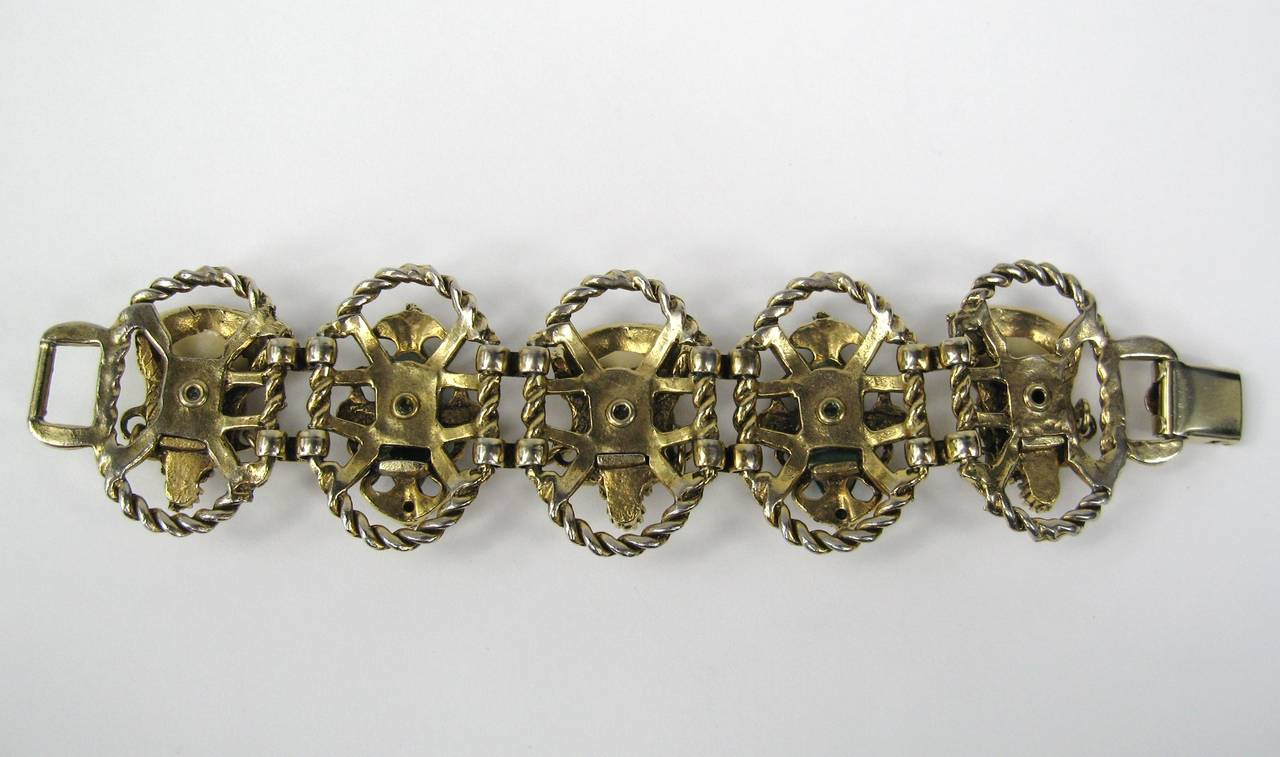 SELRO - SELINI Cream Golden Asian Princess Bracelet 6