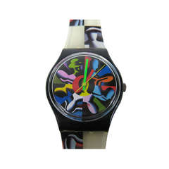 Kostabi Swatch Watch Twelve Apostles, Signed & Illustrated by Kostabi New