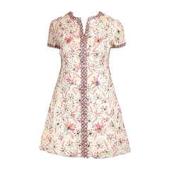Malcom Starr 1960s embellished mini dress